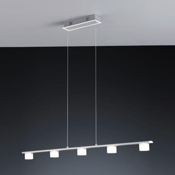 LED-Pendelleuchte Alu mit weißem Acrylglas - zwei Varianten