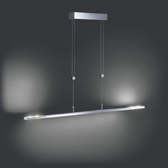 LED-Pendelleuchte Clareo 170cm, dimmbar, in 2 Farben