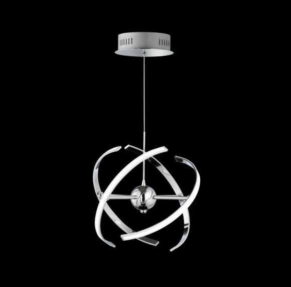 LED-Pendelleuchte Ring in zwei Größen