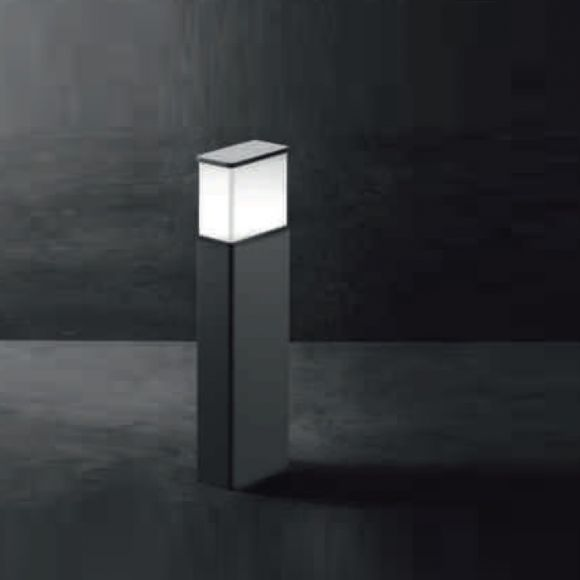 LED-Pollerleuchte Luka S Alu-Druckguss grafit, 50 cm