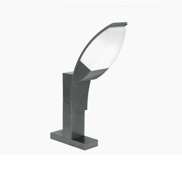 LED-Sockelleuchte in anthrazit, Höhe 50cm