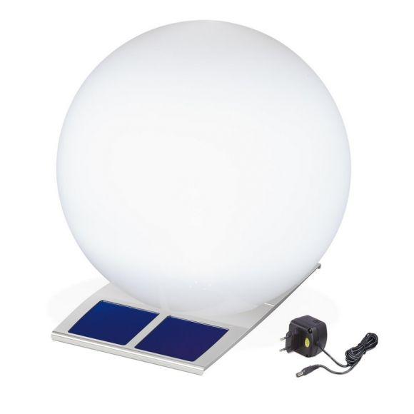 led solar kugelleuchte super trendy 50cm wohnlicht. Black Bedroom Furniture Sets. Home Design Ideas