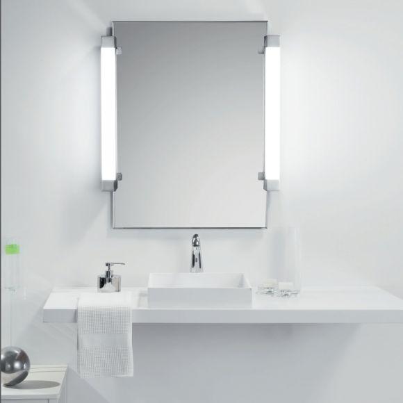Einzigartig LED-Spiegelleuchte Hugo zum Klemmen | WOHNLICHT MU91