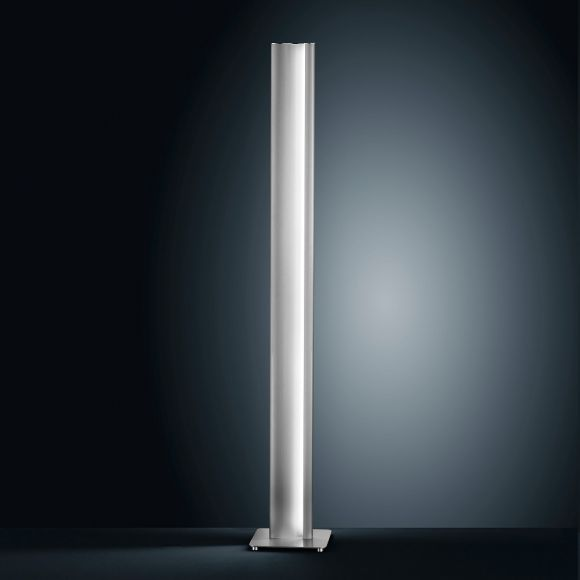 LED-Stehleuchte Kurvo mit Tastdimmer