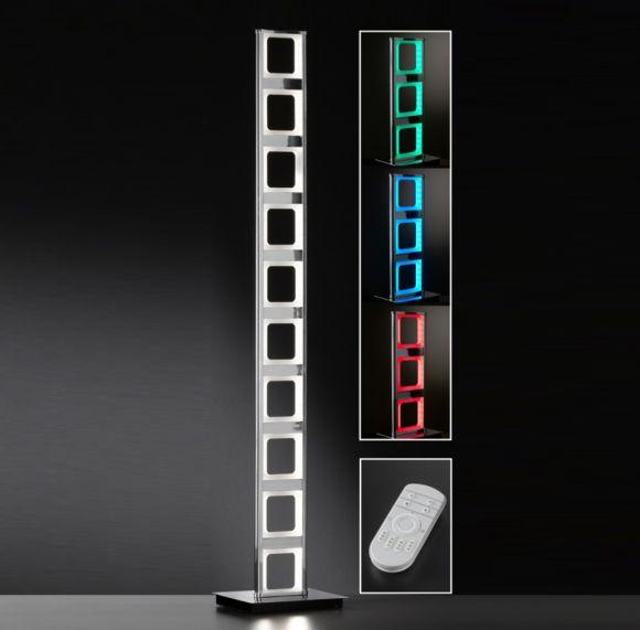 LED-Stehleuchte Leiter RGBW