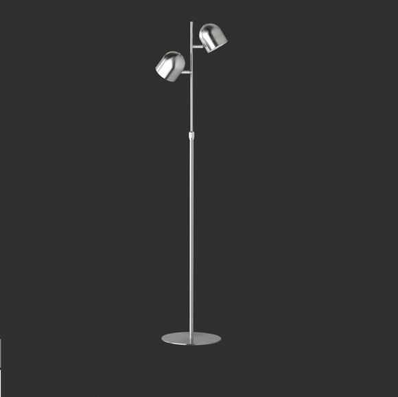 LED-Stehleuchte Mit 4-fach Touchdimmer, Verstellbar