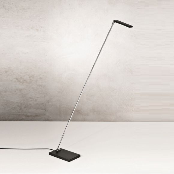 LED-Stehleuchte Niki Schwarz oder Weiß - Kippbar