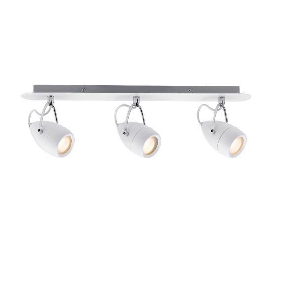LED- Strahler Weiß/Chrom 3 x 3,5W - IP44