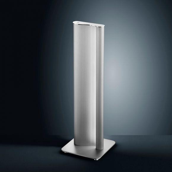 LED-Tischleuchte Kurvo mit Tastdimmer