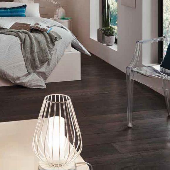 LED-Tischleuchte Vencino 1-flammig, weiß