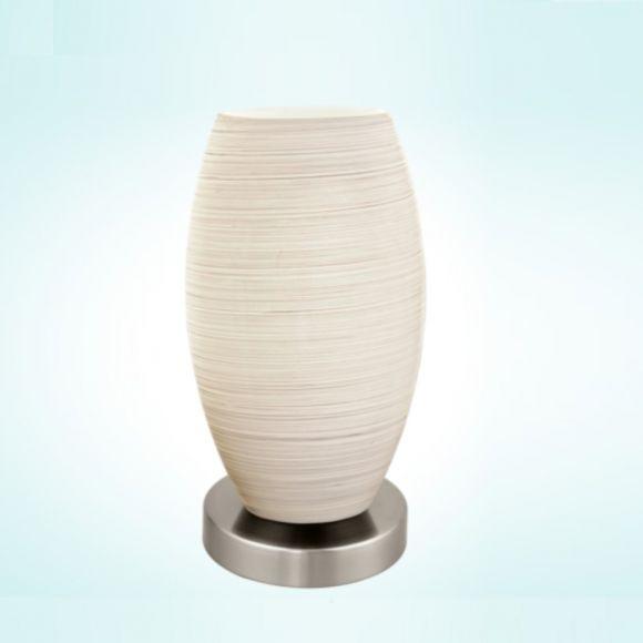 LED-Tischleuchte, Glas mit Wischtechnik