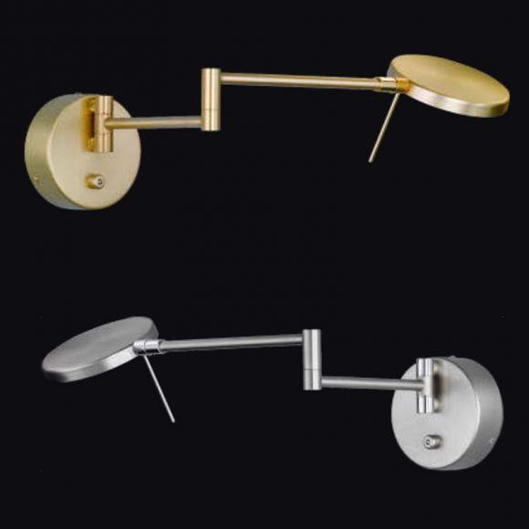 led wandlampe sole dimmbar und schwenkbar wohnlicht. Black Bedroom Furniture Sets. Home Design Ideas