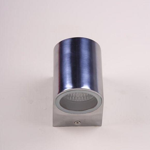 LED-Wandleuchte aus Aluminium - Inklusive GU10 LED 1 x 7 Watt