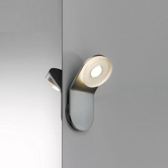 LED-Wandleuchte aus rostfreien Materialien, mit IP-Schutz inklusive 4,5 Watt  LED, 3000 K warmweiß
