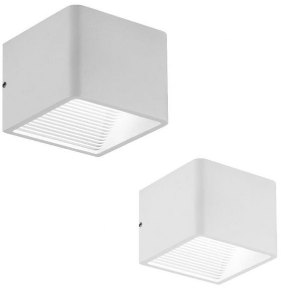LED-Wandleuchte Ledar Lichtaustritt oben und unten