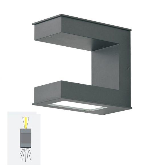 LED-Wandleuchte mit up & down Lichteffekt - mit neutralweißer LED, 4000K