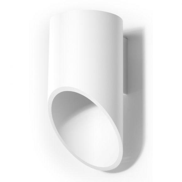 LED-Wandleuchte Penne in weiß, 20 cm