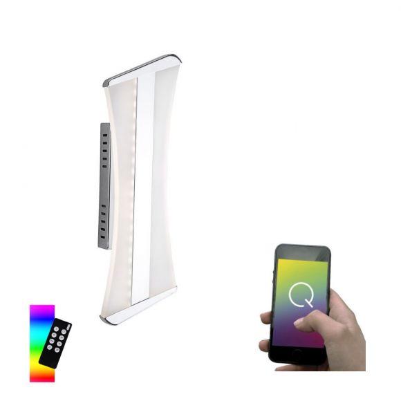 LED-Wandleuchte Q®-Riller, ZigBee kompatibel