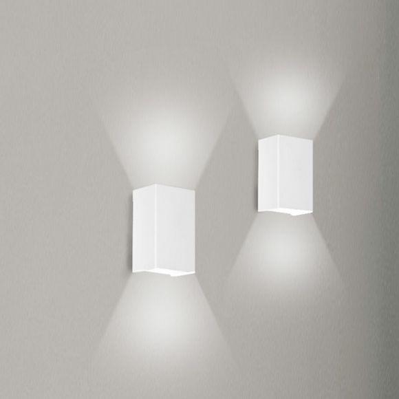 LED-Wandleuchte Rebox inklusive 2x 5W LED