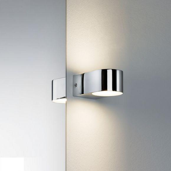 LED-Wandleuchte, up and down Lichtaustritt, 2x 3,5 Watt LED