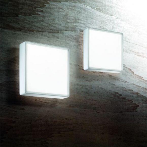 LED-Wand- oder Deckenleuchte quadratisch in 4 Versionen