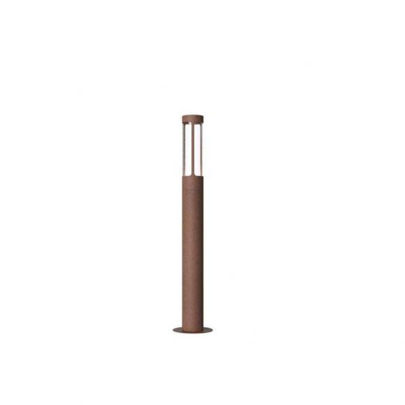 LED-Wegeleuchte aus Corton-Stahl, Rostfarbig, 5Watt LED