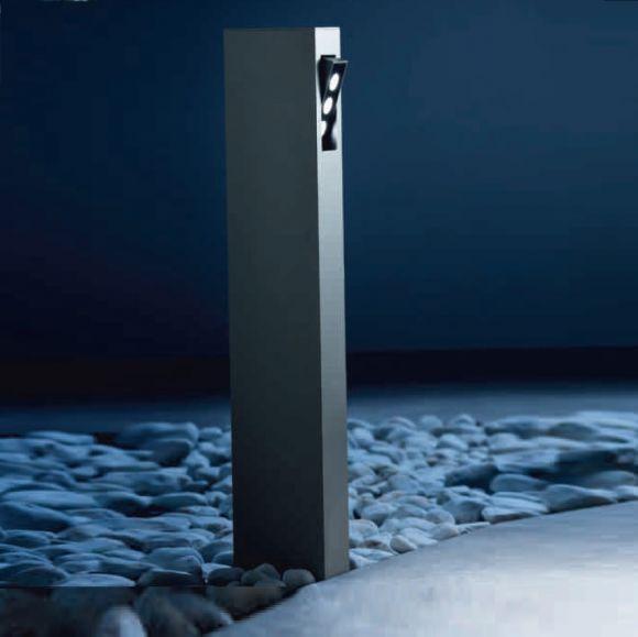 LED-Wegeleuchte Naska Aluminiumguss grafit, 65 cm