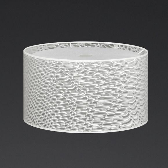 Leuchtenschirm 3D-Folie weiß zur Serie Mikado, 2 Größen