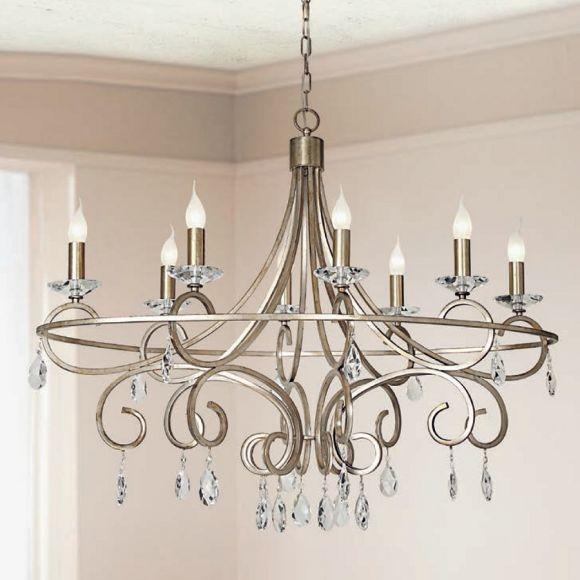 luxuri ser kronleuchter metall kristallglas wohnlicht. Black Bedroom Furniture Sets. Home Design Ideas
