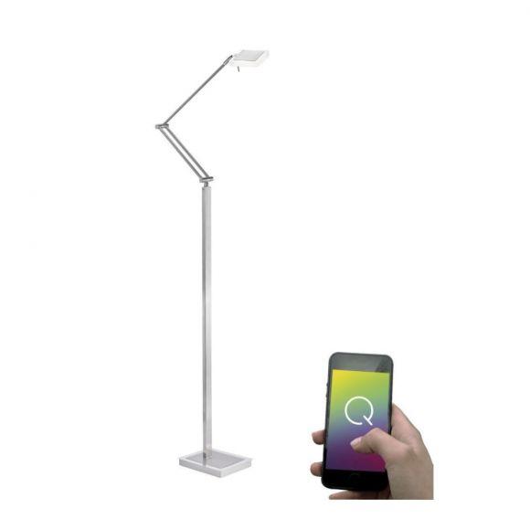 Moderne LED-Stehleuchte Q®-Vidal, ZigBee kompatibel