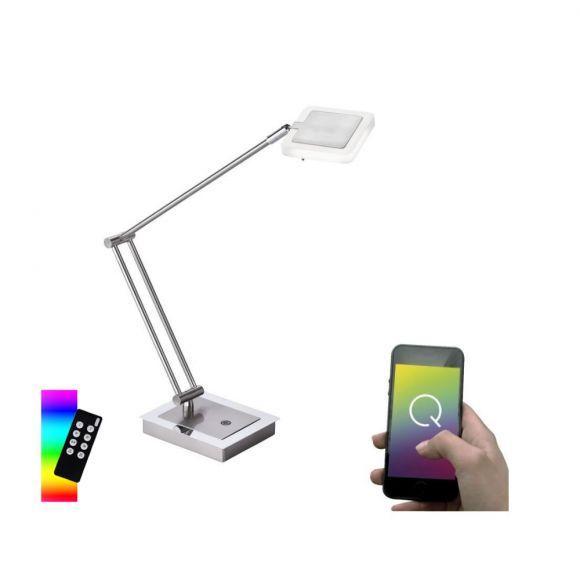 Moderne LED-Tischleuchte Q®-Vidal, ZigBee kompatibel