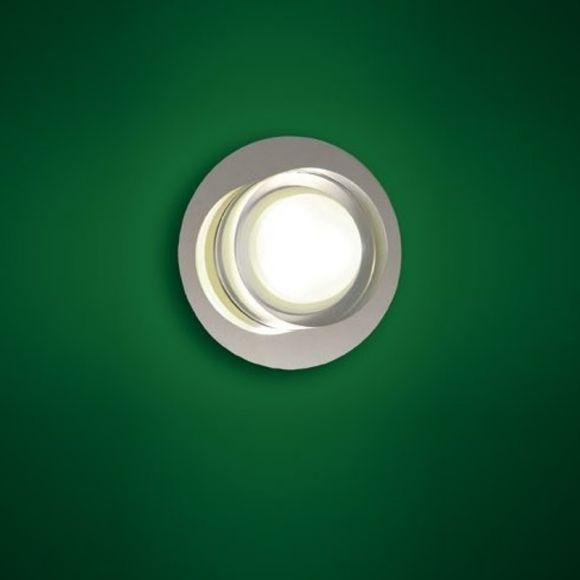Moderne LED-Wandleuchte Chrom, 2-flammig