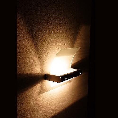 Moderne Wandleuchte zur indirekten, blendfreien Ausleuchtung, inklusive  Leuchtmittel