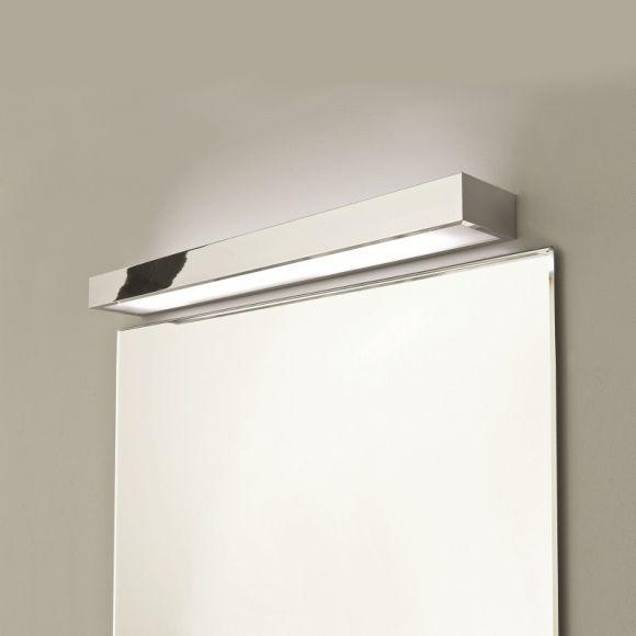 Moderne Wandleuchte - Chrom - Glas -  60 cm Länge - inklusive Leuchtmittel 1x G5 24W