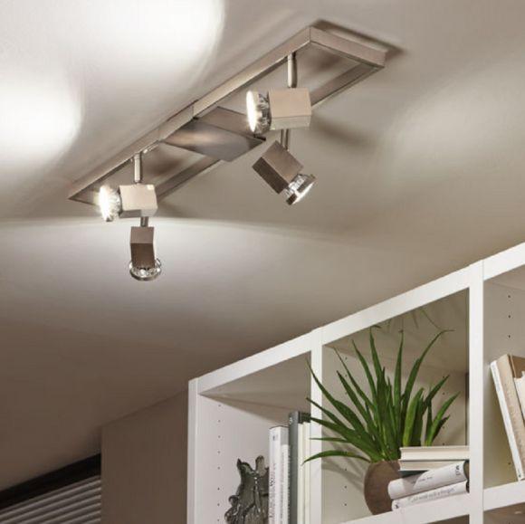 moderner LED Deckenstrahler Zereco, schwenkbar