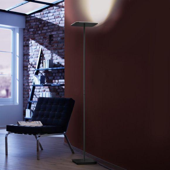 Holtkötter Moderner LED-Deckenfluter in 2 Oberflächen