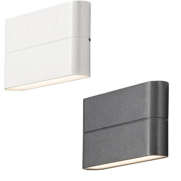 New Chieri  LED Außenwandleuchte - Weiß oder Anthrazit