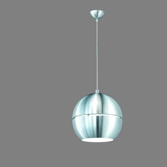 Pendelleuchte 1-flammig - Aluminium - 30cm inklusive LED Glühlampe