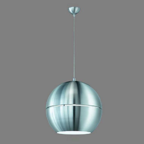 Pendelleuchte Aluminium 40cm, inklusive LED Leuchtmittel 10W