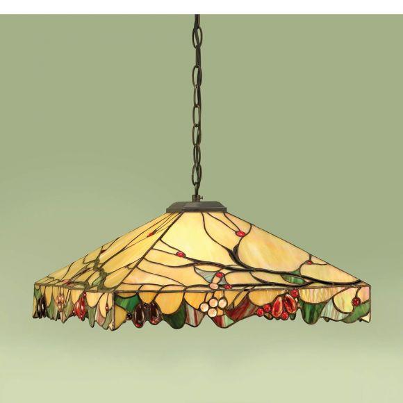 Pendelleuchte Arbois im Tiffany Stil