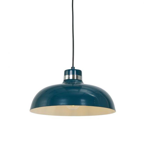 Pendelleuchte aus Stahl Ø 30cm Farbe  wählbar