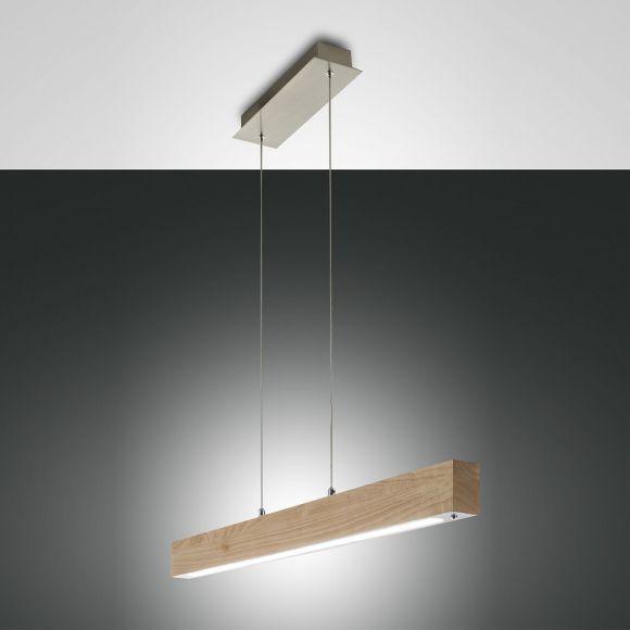 pendelleuchte badia aus holz inklusive led wohnlicht. Black Bedroom Furniture Sets. Home Design Ideas