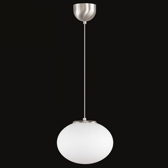 Pendelleuchte Boccia, LED geeignet, Design, Opalglas, 4 Größen