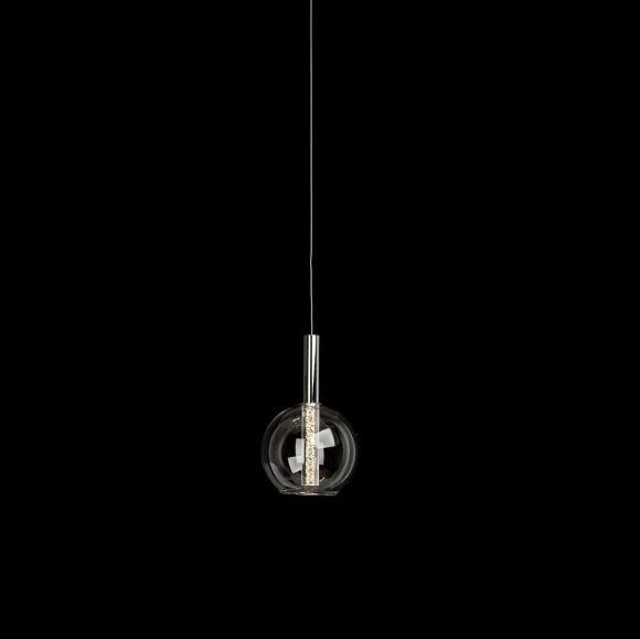 Pendelleuchte Elegant Glaskugel mit LED