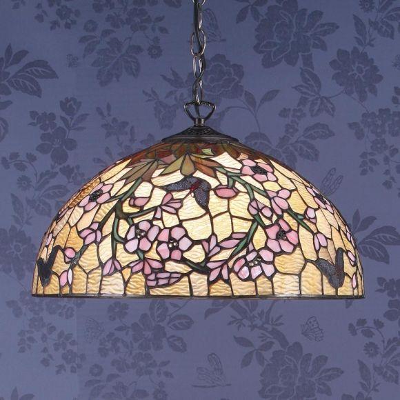 Pendelleuchte Fleurette im Tiffany Stil