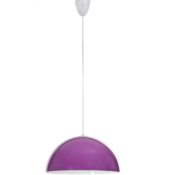 Pendelleuchte Hemisphere Violet, 33,5 cm