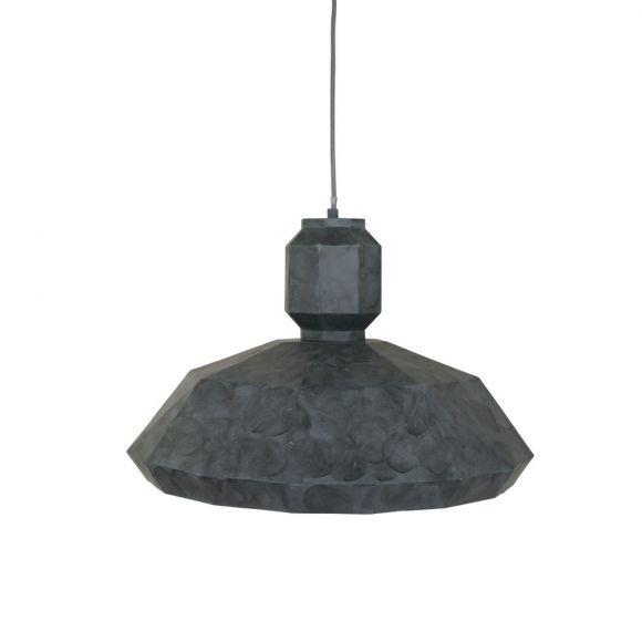 Pendelleuchte Metall grau Ø 53cm