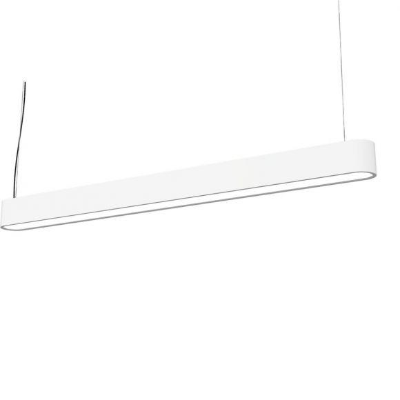 Pendelleuchte Soft 120 in Weiß oder Graphite