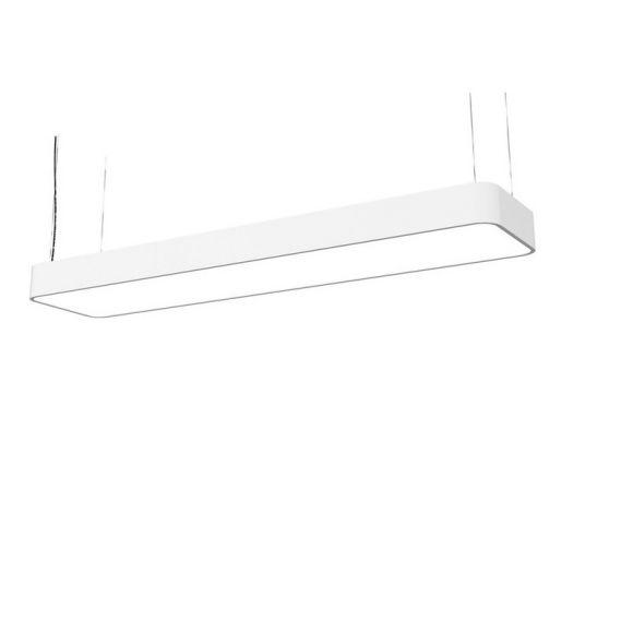 Pendelleuchte Soft 90x20 in Weiß oder Graphite