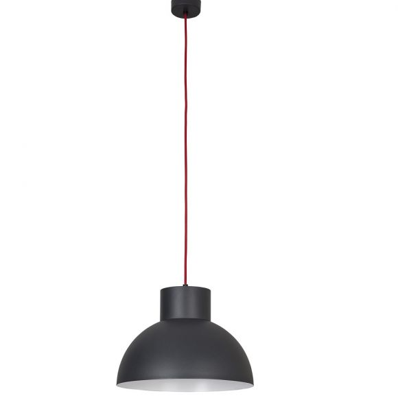 Pendelleuchte, grau, grafit, Fassung E27 für LED Leuchtmittel